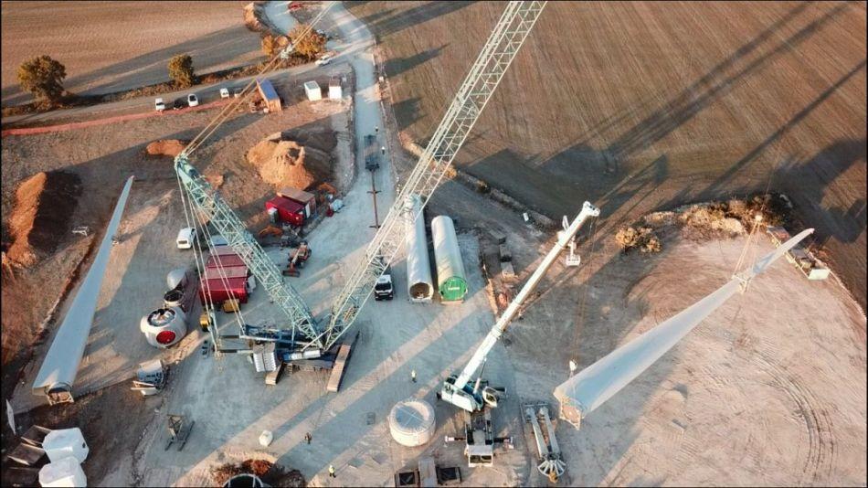 Vista general obres Viure de l'aire (Foto: Carles Ramos) - 22/Nov/2017