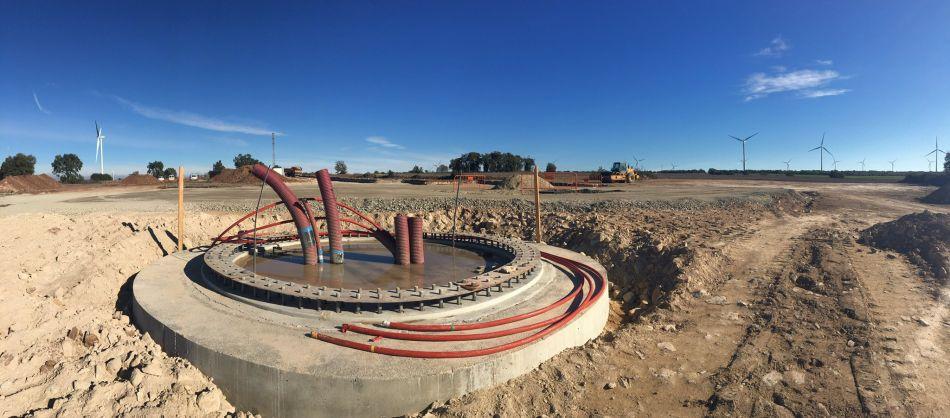 Cimientos y conexiones - Foto: Quim Miñano 10/Nov/2017